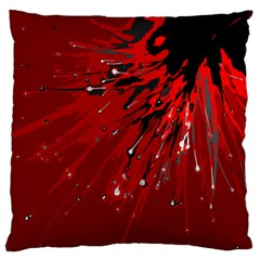 Big Bang Large Flano Cushion Case (two Sides) by ValentinaDesign