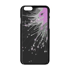 Big Bang Apple Iphone 6/6s Black Enamel Case by ValentinaDesign