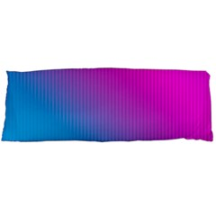 With Wireframe Terrain Modeling Fabric Wave Chevron Waves Pink Blue Body Pillow Case Dakimakura (two Sides) by Mariart