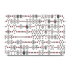 Bioplex Maps Molecular Chemistry Of Mathematical Physics Small Army Circle Plate Mats by Mariart