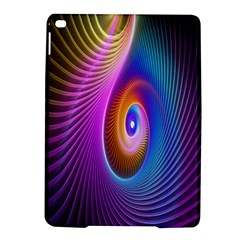 Abstract Fractal Bright Hole Wave Chevron Gold Purple Blue Green Ipad Air 2 Hardshell Cases by Mariart
