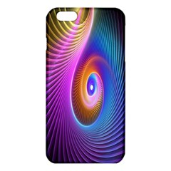 Abstract Fractal Bright Hole Wave Chevron Gold Purple Blue Green Iphone 6 Plus/6s Plus Tpu Case by Mariart