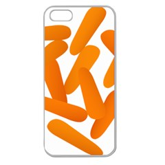 Carrot Vegetables Orange Apple Seamless Iphone 5 Case (clear) by Mariart