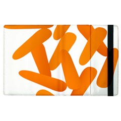 Carrot Vegetables Orange Apple Ipad 3/4 Flip Case by Mariart