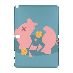 Coins Pink Coins Piggy Bank Dollars Money Tubes Galaxy Note 1 by Mariart