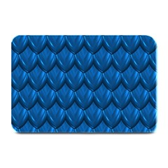 Blue Dragon Snakeskin Skin Snake Wave Chefron Plate Mats by Mariart