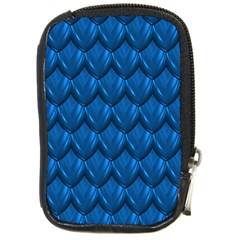 Blue Dragon Snakeskin Skin Snake Wave Chefron Compact Camera Cases