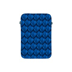 Blue Dragon Snakeskin Skin Snake Wave Chefron Apple Ipad Mini Protective Soft Cases by Mariart