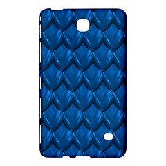 Blue Dragon Snakeskin Skin Snake Wave Chefron Samsung Galaxy Tab 4 (8 ) Hardshell Case  by Mariart