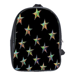 Colorful Gold Star Christmas School Bags(large)