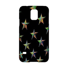Colorful Gold Star Christmas Samsung Galaxy S5 Hardshell Case  by Mariart