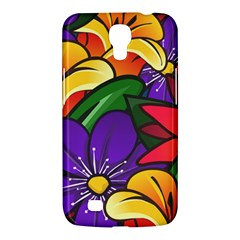 Bright Flowers Floral Sunflower Purple Orange Greeb Red Star Samsung Galaxy Mega 6 3  I9200 Hardshell Case by Mariart