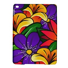 Bright Flowers Floral Sunflower Purple Orange Greeb Red Star Ipad Air 2 Hardshell Cases by Mariart