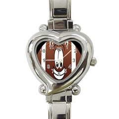 Happy Football Clipart Excellent Illustration Face Heart Italian Charm Watch