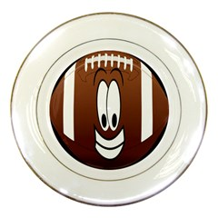 Happy Football Clipart Excellent Illustration Face Porcelain Plates by Mariart