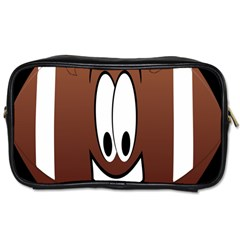 Happy Football Clipart Excellent Illustration Face Toiletries Bags by Mariart