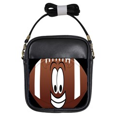 Happy Football Clipart Excellent Illustration Face Girls Sling Bags by Mariart