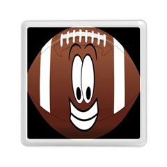 Happy Football Clipart Excellent Illustration Face Memory Card Reader (square)  by Mariart