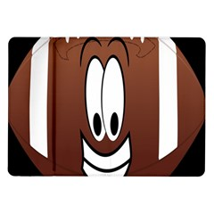 Happy Football Clipart Excellent Illustration Face Samsung Galaxy Tab 10 1  P7500 Flip Case by Mariart