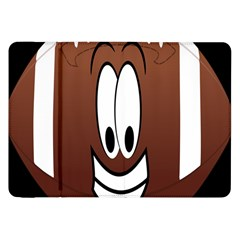 Happy Football Clipart Excellent Illustration Face Samsung Galaxy Tab 8 9  P7300 Flip Case by Mariart