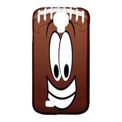 Happy Football Clipart Excellent Illustration Face Samsung Galaxy S4 Classic Hardshell Case (pc+silicone) by Mariart