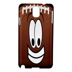 Happy Football Clipart Excellent Illustration Face Samsung Galaxy Note 3 N9005 Hardshell Case