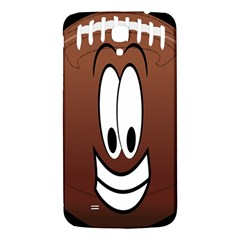 Happy Football Clipart Excellent Illustration Face Samsung Galaxy Mega I9200 Hardshell Back Case by Mariart