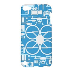 Drones Registration Equipment Game Circle Blue White Focus Apple Ipod Touch 5 Hardshell Case by Mariart