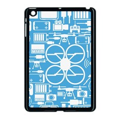 Drones Registration Equipment Game Circle Blue White Focus Apple Ipad Mini Case (black) by Mariart