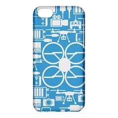 Drones Registration Equipment Game Circle Blue White Focus Apple Iphone 5c Hardshell Case by Mariart