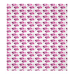 Heart Love Pink Purple Shower Curtain 66  X 72  (large)  by Mariart