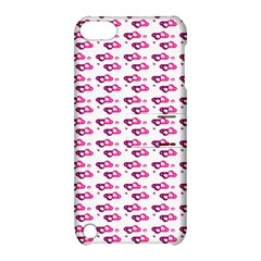 Heart Love Pink Purple Apple Ipod Touch 5 Hardshell Case With Stand by Mariart