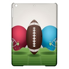 Helmet Ball Football America Sport Red Brown Blue Green Ipad Air Hardshell Cases by Mariart