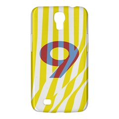 Number 9 Line Vertical Yellow Red Blue White Wae Chevron Samsung Galaxy Mega 6 3  I9200 Hardshell Case