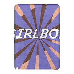 Girlboss Light Line Wave Chevron Samsung Galaxy Tab Pro 10 1 Hardshell Case by Mariart
