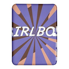 Girlboss Light Line Wave Chevron Samsung Galaxy Tab 4 (10 1 ) Hardshell Case  by Mariart