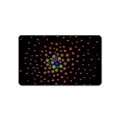Molecular Chemistry Of Mathematical Physics Small Army Circle Magnet (name Card) by Mariart