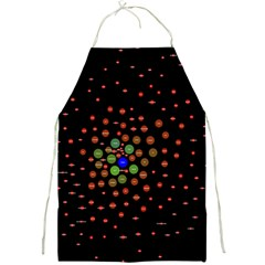 Molecular Chemistry Of Mathematical Physics Small Army Circle Full Print Aprons