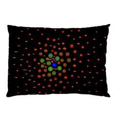 Molecular Chemistry Of Mathematical Physics Small Army Circle Pillow Case (two Sides) by Mariart