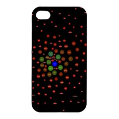 Molecular Chemistry Of Mathematical Physics Small Army Circle Apple Iphone 4/4s Premium Hardshell Case by Mariart