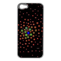 Molecular Chemistry Of Mathematical Physics Small Army Circle Apple Iphone 5 Case (silver) by Mariart