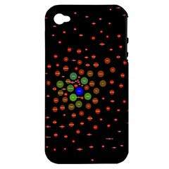 Molecular Chemistry Of Mathematical Physics Small Army Circle Apple Iphone 4/4s Hardshell Case (pc+silicone) by Mariart