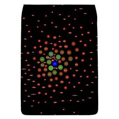Molecular Chemistry Of Mathematical Physics Small Army Circle Flap Covers (l)  by Mariart