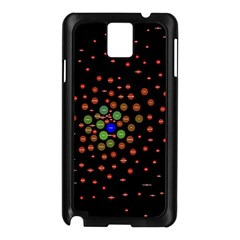 Molecular Chemistry Of Mathematical Physics Small Army Circle Samsung Galaxy Note 3 N9005 Case (black) by Mariart
