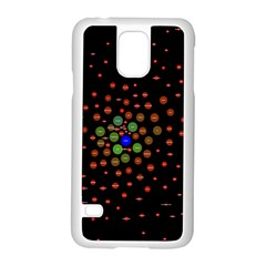 Molecular Chemistry Of Mathematical Physics Small Army Circle Samsung Galaxy S5 Case (white) by Mariart