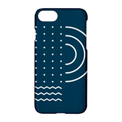 Parachute Water Blue Waves Circle White Apple Iphone 7 Hardshell Case by Mariart