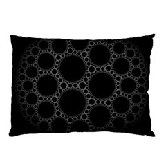 Plane Circle Round Black Hole Space Pillow Case by Mariart
