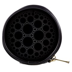 Plane Circle Round Black Hole Space Mini Makeup Bags