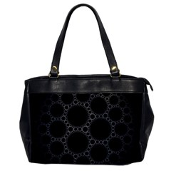 Plane Circle Round Black Hole Space Office Handbags by Mariart