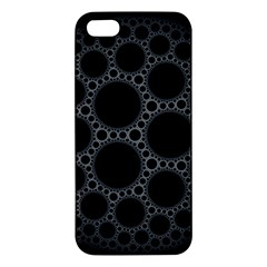 Plane Circle Round Black Hole Space Apple Iphone 5 Premium Hardshell Case by Mariart